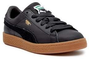 Puma Basket Classic Gum Deluxe Sneaker (Little Kid)