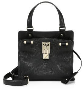 VALENTINO GARAVANI Piper Leather Satchel