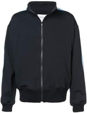 Noon Goons side striped zipped sweatshirt