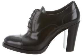 Church's Leather Oxford Booties