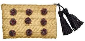 San Diego Hat Company Women's Clutch With Pom Pom Bsb1717.