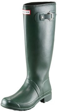 Hunter Original Tour Buckled Welly Boot, Green