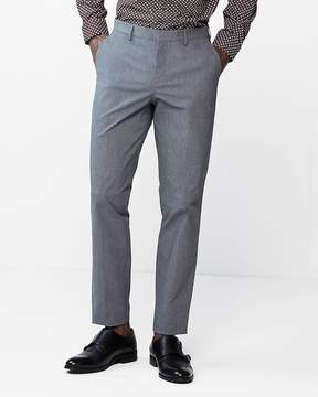 Express Slim Grey Mini Check Dress Pants