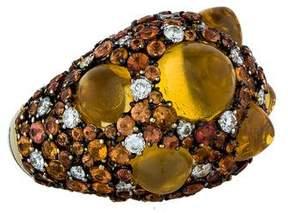 Chimento 18K Moonrise Diamond, Sapphire & Opal Cocktail Ring