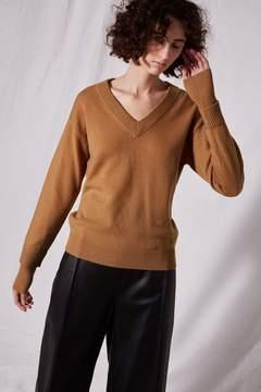 Boutique V-neck cashmere sweater