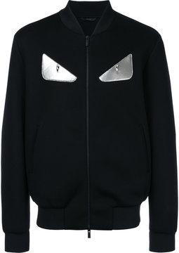 Fendi Bag Bugs zipped jacket