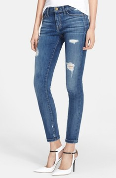 Current/Elliott Women's 'The Stiletto' Destroyed Skinny Jeans