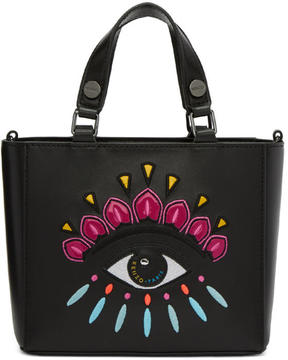 Kenzo Black Small Eye Tote