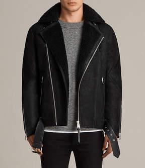 AllSaints Brooklyn Shearling Biker Jacket