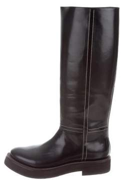 Brunello Cucinelli Monili-Embellished Knee-High Boots w/ Tags