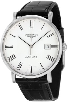 Longines Elegant Automatic White Dial Men's Watch L49104112