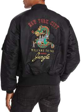Bravado Guns N' Roses New York City Jungle Bomber Jacket