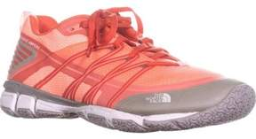The North Face Litewave Ampere Athletic Sneakers, Neon Peach/tropical Coral.