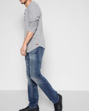 7 For All Mankind 100% Cotton The Straight with Clean Pocket in Legend