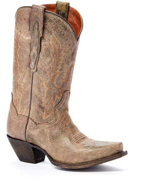 Dan Post Chocolate Road Leather Western Boot - Women
