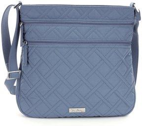 Vera Bradley Triple Zip Hipster Cross-Body Bag - CHARCOAL - STYLE