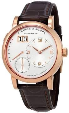 A. Lange & Söhne A. Lange and Sohne Lange 1 Daymatic Silver Dial 18kt Rose Gold Men's Watch