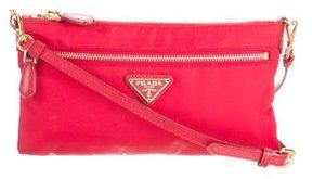 Prada Mini Tessuto & Saffiano Crossbody Bag