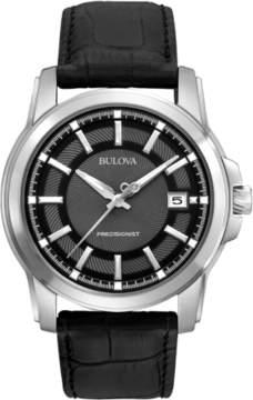 Bulova Men's 96B158 Leather Watch, 40mm