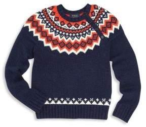 Ralph Lauren Toddler's, Little Boy's & Boy's Fair Isle Knit Sweater