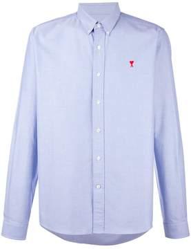 Ami Alexandre Mattiussi Ami de Coeur sky blue oxford shirt