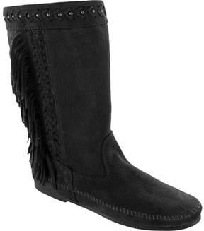 Minnetonka Luna Fringe Knee High Boot (Women's)