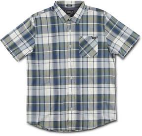 O'Neill Men's Yarn-Dyed Plaid Pocket Shirt