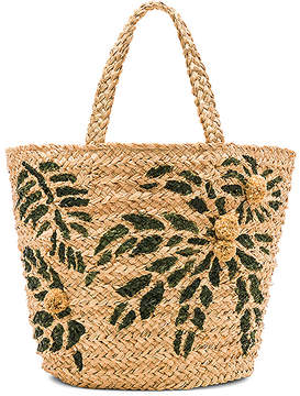 Hat Attack Painted Palm Tote