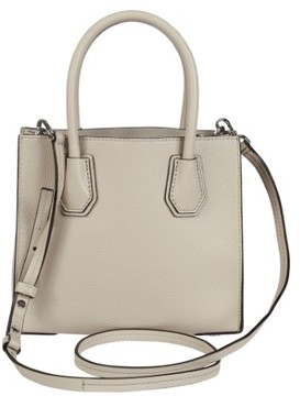 Michael Kors Mercer Leather Crossbody - Cement - 30F6SM9M2L-092 - ONE COLOR - STYLE