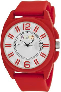 Crayo Sunset Collection CRACR3304 Unisex Watch with Silicone Strap