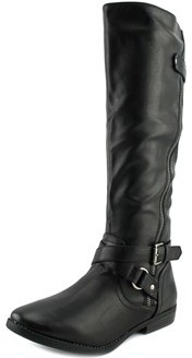 Rampage Iona W Round Toe Synthetic Knee High Boot.