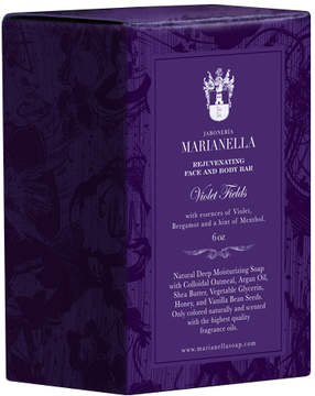 Violet Fields Rejuvenating Soap Bar by Jaboneria Marianella (6oz Bar)