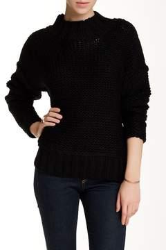 Dee Elly Mock Neck Chunky Knit Sweater