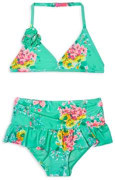 Hula Star Girls' Garden Dream 2-Piece Swimsuit - Little Kid