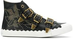 Chloé Kyle buckled sneakers