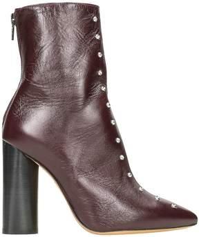 IRO Birok Studded Leather Booties