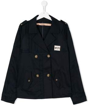 No.21 Kids TEEN double breasted jacket