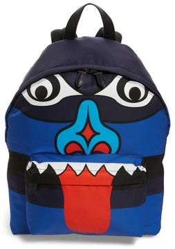 Givenchy Men's Totem Print Backpack - Blue