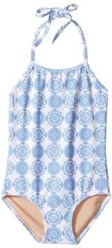 Toobydoo Delft One-Piece Swimsuit (Infant/Toddler/Little Kids/Big Kids)