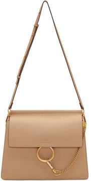 Chloé Beige Medium Faye Bag