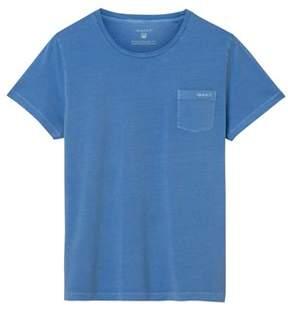 Gant Men's Blue Cotton T-shirt.