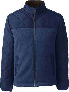 Lands' End Lands'end Men's Quilted Hybrid Jacket