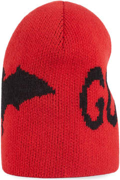 Gucci Wool hat with bat