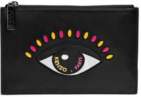 Small Eye Leather Pouch