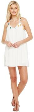 Brigitte Bailey Jean Spaghetti Strap Dress with Tassels Women's Dress