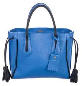 Longchamp Leather Penelope Tote