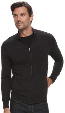 Marc Anthony Men's Slim-Fit Soft-Touch Modal Full-Zip Mockneck Sweater