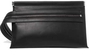 Tom Ford Zip-emellished Leather Clutch - Black