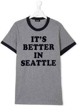 Diesel Teen better in Seattle T-shirt