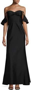 Shoshanna Women's Solid Silk Gown